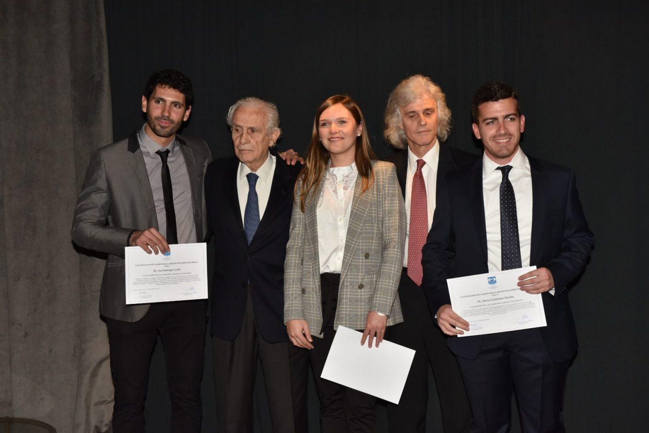 Los doctores Oteiza Guillermo Nicolas, Aun Santiago Guido y Sánchez Navarro Karen, Enrique S. Malbran y Enrique Malbran