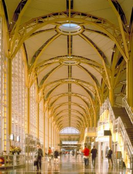 Reagan National Airport, Washington DC, Pelli Clarke Pelli Architects