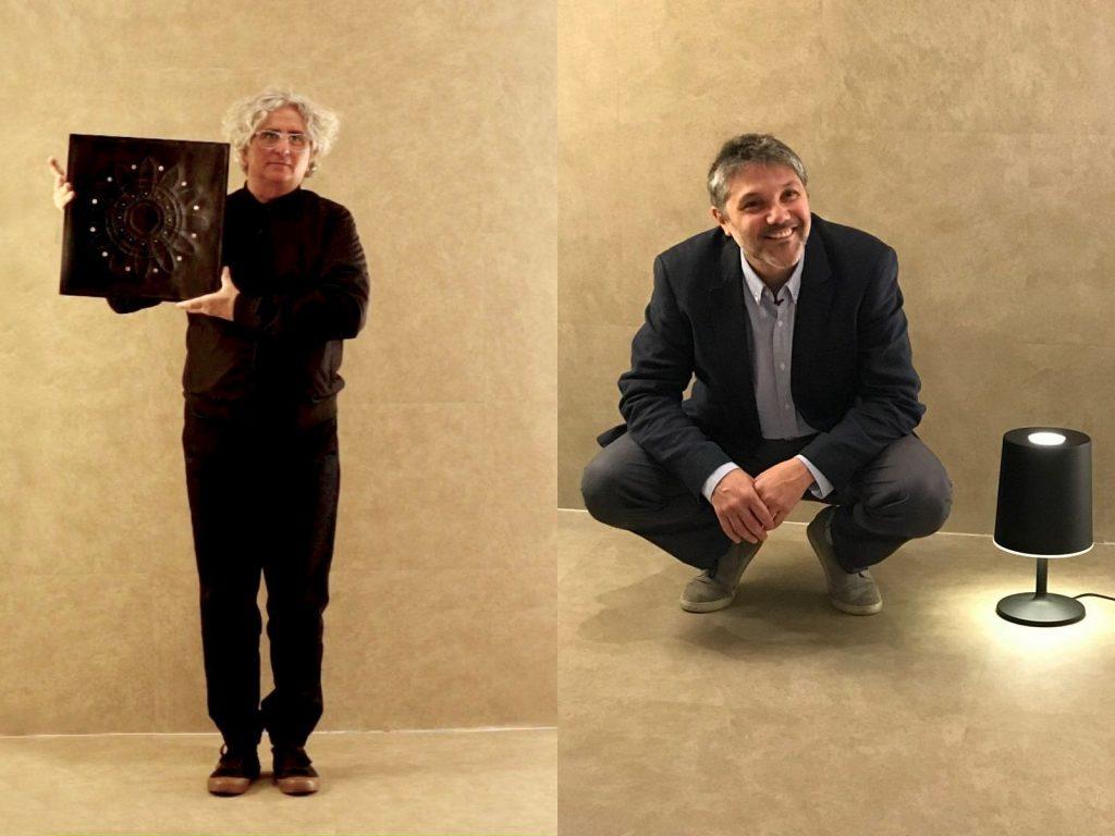 Arq. Julio Oropel y el diseñador industrial Martín Wolfson