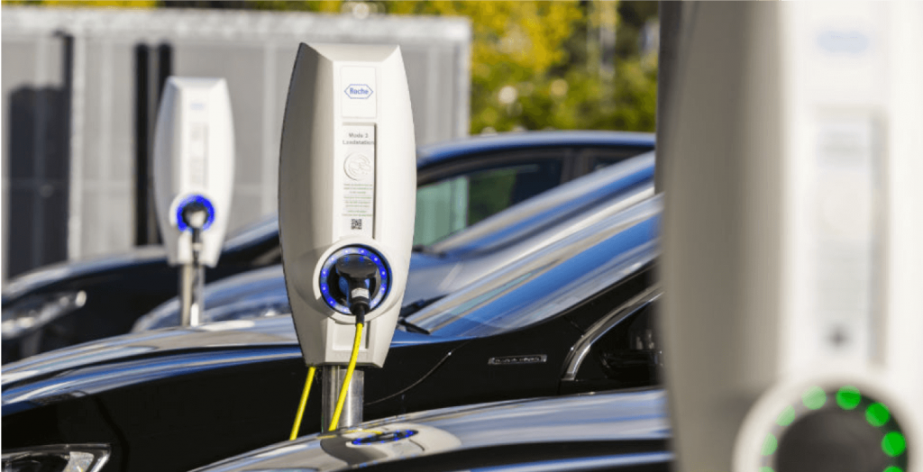 Puntos de carga autos eléctricos